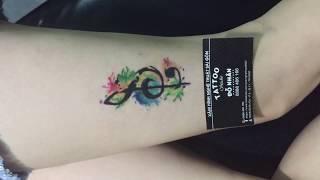 Xăm che sẹo, hình xăm nốt nhạc tại Đỗ Nhân Tattoo địa chỉ xăm hình tại Tphcm