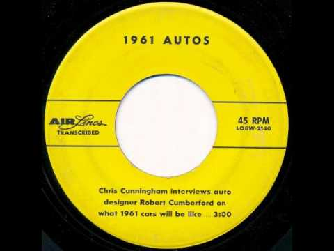 Robert Cumberford Interview - 1961 Autos (1960)