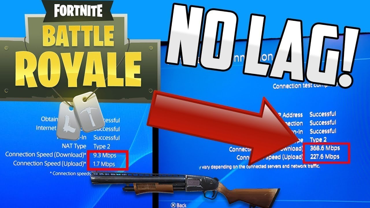 How to Fix Fortnite LAG on PS4(3 EASY WAYS)!!