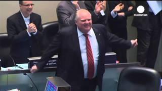 Dancing Mayor: Toronto's Rob Ford shows off reggae moves on City Hall floor