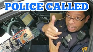 COPS CALLED FOUND MONEY POLICE RESPOND I Bought Abandoned Storage Unit Locker Opening Mystery Boxes