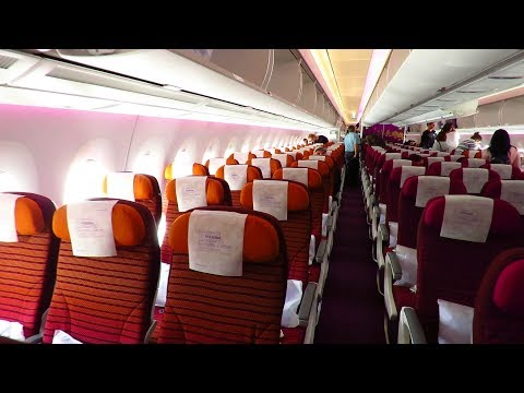 TRIP REPORT | Thai Airways BRAND NEW A350-900 | Bangkok to F