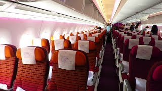 TRIP REPORT | Thai Airways BRAND NEW A350-900 | Bangkok to Frankfurt | Economy Class