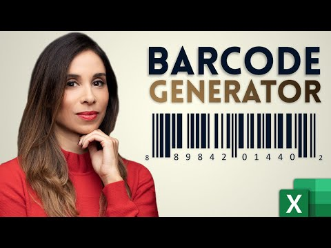 How to create barcodes in Excel that WORK!