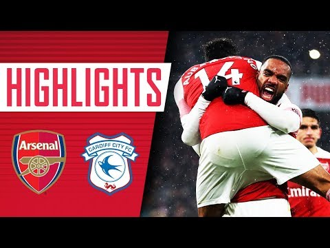 Arsenal 2 - 1 Cardiff City | Goals and highlights