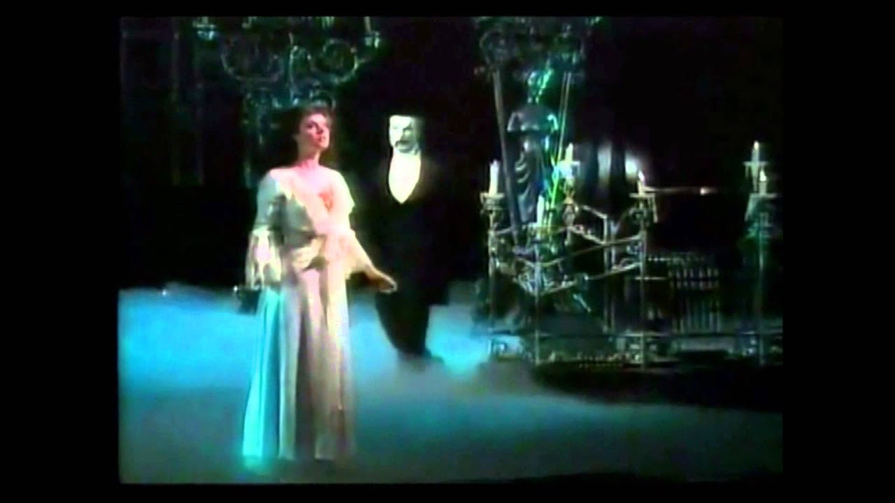phantom of the opera 1988 tony awards youtube