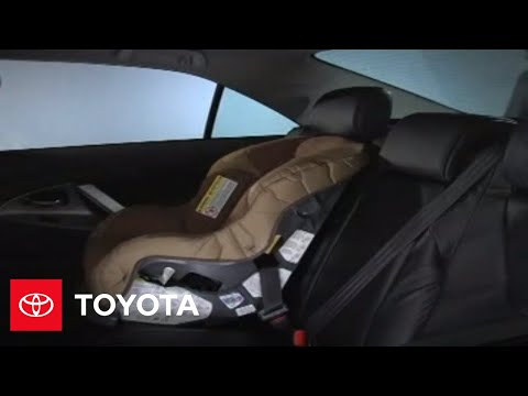 2007 - 2009 Camry How-To: Child Safety - Seatbelt Automatic