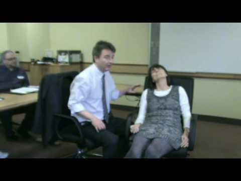 Pain Control Demo - Irish Hypnosis ICHIreland