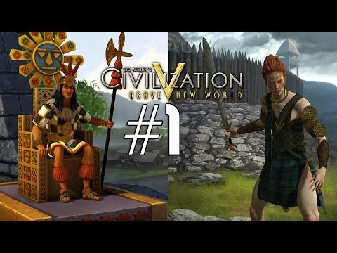 Civilization 5: Emperor Co-op [Celt / Inca] - 1
