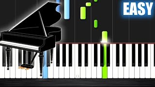 Greensleeves - EASY Piano Tutorial by PlutaX