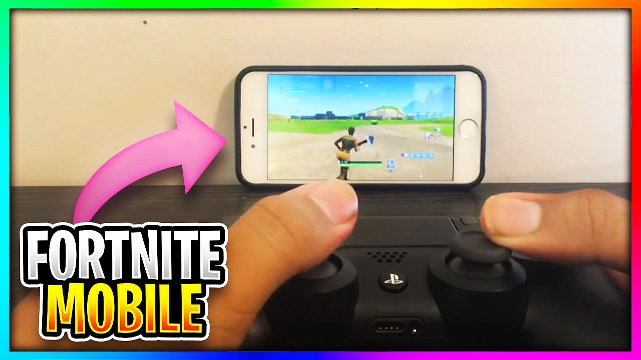Omg Use A Controller On Fortnite Mobile Youtube