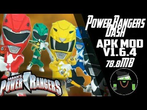 Power Rangers Dash Mod APK V1.6.4