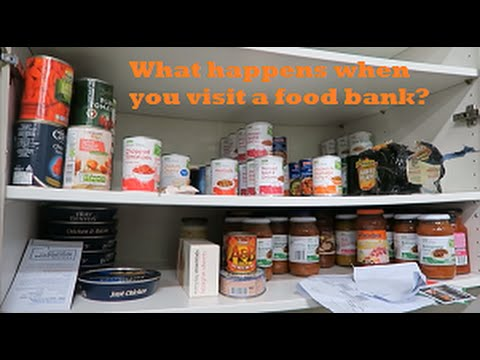 What Happens at a Food Bank? Serious Wednesdays #1