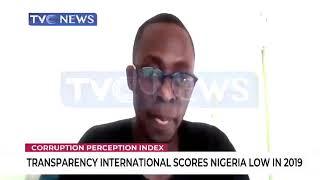 Olalekan Adisa  dissects Transparency International's latest Corruption Perception index