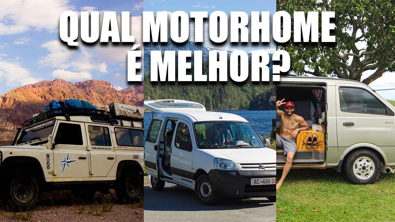 Qual é o melhor motorhome 4x4, compacto ou van?