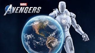 New Avengers Game | Map Has Been Leaked And WOW!... PS5 Game Info & Jump/Sprint Button!