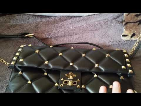30c06e8cb06c Valentino studded bag   replica review   unboxing   high quality boujee on  budget