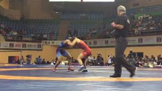sakshi malik vs risako kawai asian championship 2017 final bout