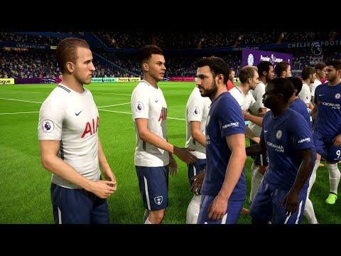 FIFA 18 | Chelsea vs Tottenham Hotspur - Full Gameplay (PS4/Xbox One)