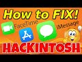 Gambar cover How to FIX iMessage, FaceTime, Apple Store in Opencore & Clover Hackintosh   Easy Way 2020