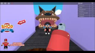 (Roblox Pet store obby/Part 2/GETTING EATEN BY A DOG!)