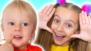 Peek a Boo | Nursery Rhymes & Children Songs by Sunny Kids Songs