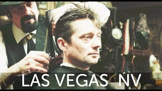 Scissor Slinging Las Vegas Haircut Experience at Cliff's Barber Corral