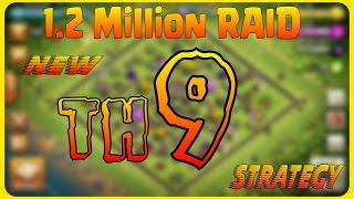 ♦ Best FRESH TH9 Farming Army for NEW TH9 Players in GOLD 3♦  QUICK FAST EASY ♦