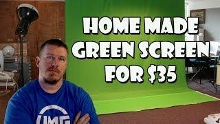 My Green Screen Setup - Diy Cheap Green Screen