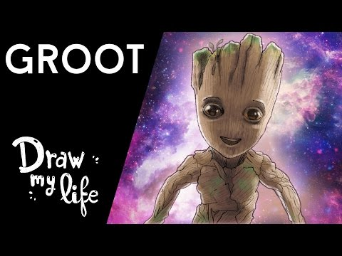 La EMOCIONANTE HISTORIA de GROOT - Movie Draw