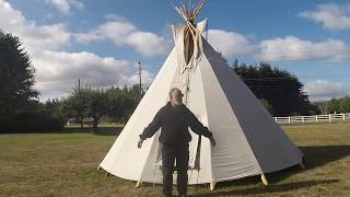 Teepee home made