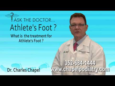 What Is The Treatment For Athlete's Foot? Podiatrist Brooksville, Spring Hill, Homosassa, Hudson FL