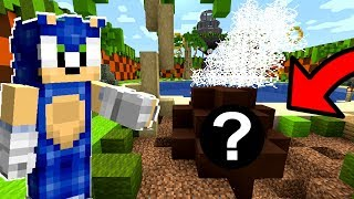 Minecraft Sonic The Hedgehog - SECRET Meteor Hits Sonic's House! [28]