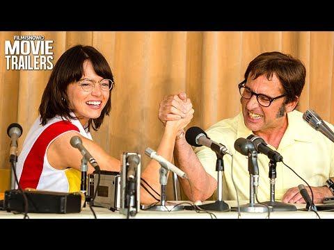 Emma Stone is Billie Jean King in BATTLE OF THE SEXES Trailer
