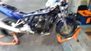 Suzuki Bandit 1200 - Carburation OK - tourne sur 4 cylindres