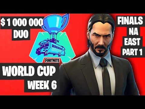 Fortnite World Cup Week 6 Highlights Final NA East Duo Part 1 [Fortnite World Cup Highlights 2019]