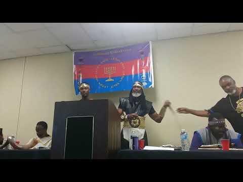 Elder Barak Sabbath class at the mashara yarsharahla Full HD 1080p