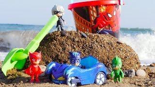 Romeo e Super Pigiamini sulla spiaggia - PJ Masks episodi