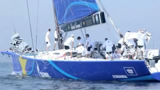 Kieler Woche 2013 - Esimit Europa 2 - die größte Offshore Yacht der Kieler-Woche-Regatten