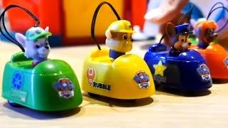 Видео для детей: Щенячий ПАТРУЛЬ и Маша! Учим цвета с машинками Щенячьего патруля.