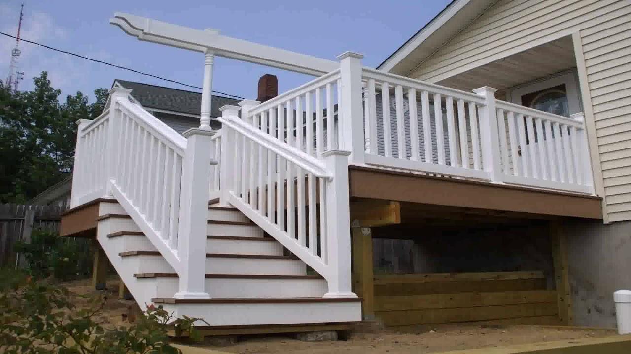 Balcony Railing Design Cement - YouTube