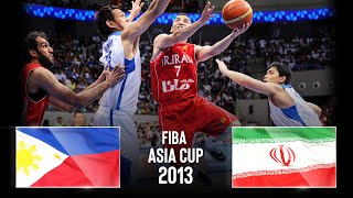 Philippines 🇵🇭 v Iran 🇮🇷 - FINAL - Classic Full Game | FIBA Asia Cup 2013