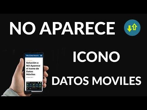 Solución a NO Aparece el Icono de Datos Móviles