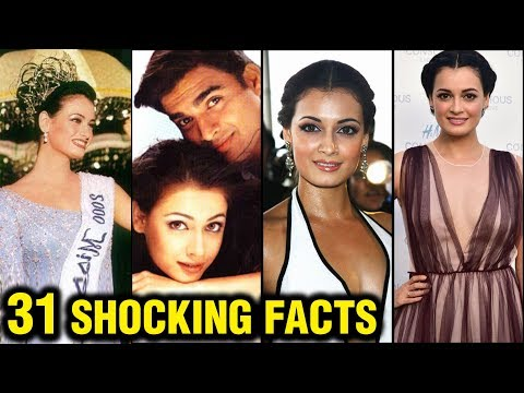Dia Mirza 31 SHOCKING And Interesting Facts | Miss Asia Pacific, Rehna Hai Tere Dil Mein, Marriage