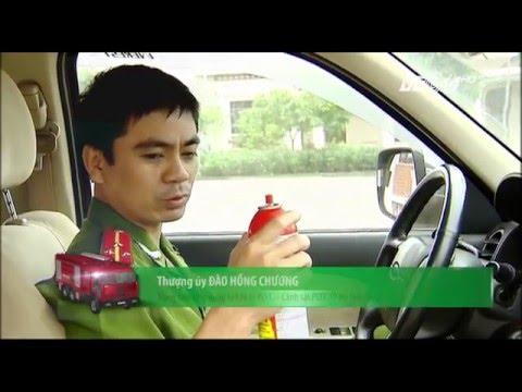 (VTC14)_Đặt bình chữa cháy ở vị trí nào trên ô tô?