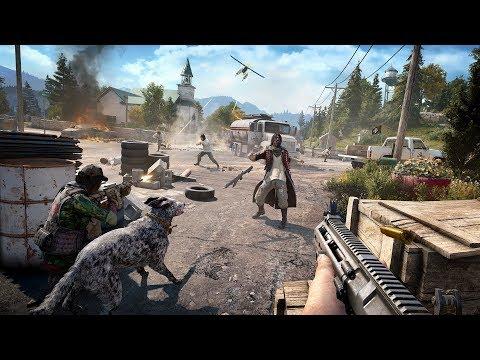 Far Cry 5 [GTX 1050Ti] Serve & Protect WiD Random Missions