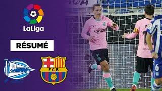Résumé : Griezmann sauveur du FC Barcelone à Alavés !