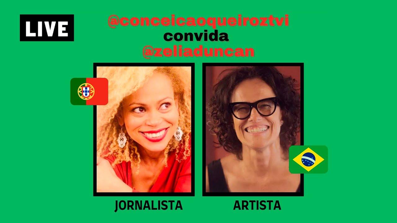 🔴 LIVE Conceição Queiroz convida Zélia Duncan