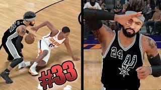 NBA 2k18 MyCAREER - Elite Dribble Moves! 5x Ankle Breakers! New Career High 65+ Points! Ep. 33