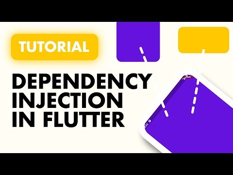 Flutter Dependency Injection For Beginners   Complete Guide
